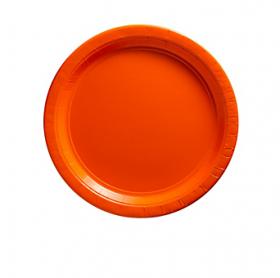 Orange Peel Dessert Plates 20ct