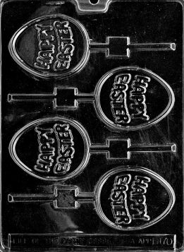 Happy Easter Chocolate Mold