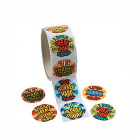 End of Day Reward Roll of Stickers (100pcs/roll)