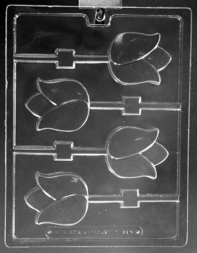 Tulip Chocolate Lollipop Molds