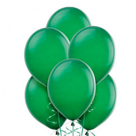 Forest Green Balloons 72ct