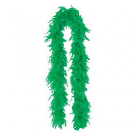 Feather Boa-Green