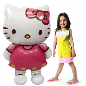 Hello Kitty  Jumbo Airwalker Foil  Balloon