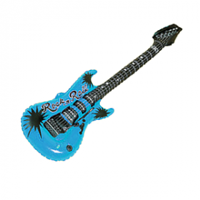 Inflatable Guitar- Blue