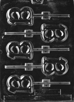 #13 Chocolate Lollipop Mold