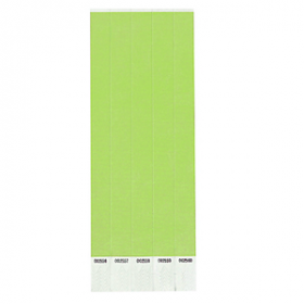 Lime Green Paper Wristbands 250ct