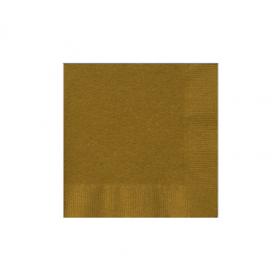 Gold Sparkle Beverage Napkins 50Ct