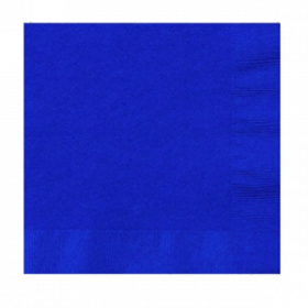 Bright Royal Blue Lunch  Napkins 50Ct