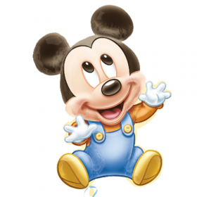Baby Mickey Jumbo Foil Balloon