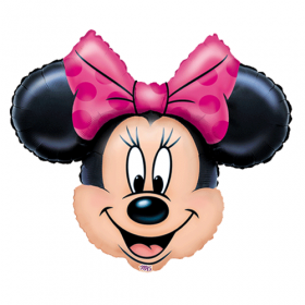 Minnie Mouse Face Jumbo Foil  Balloon