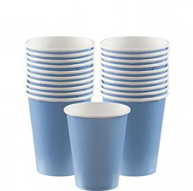 Pastel Blue Paper Cups 20ct