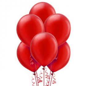 Red Pearl Balloons 72ct