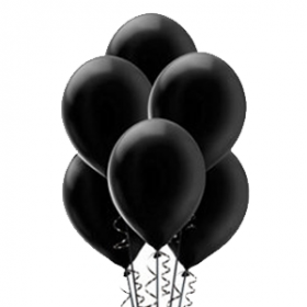 Black Pearl Balloons 72ct