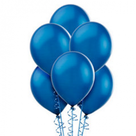 Royal Blue Pearl Balloons 10ct