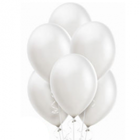 White Pearl Balloons 10ct
