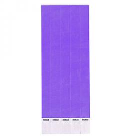 Purple Paper Wristbands 250ct