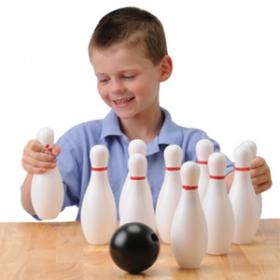 Toy Bowling Set/12 Pcs