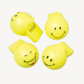 Smiley Face Whistles