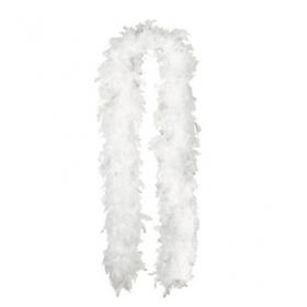 Feather Boa-White