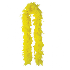 Feather Boa-Yellow