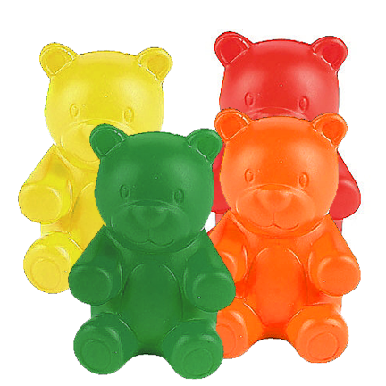 b66279c8d Foam Gummy Bear Stress Toys 1dz